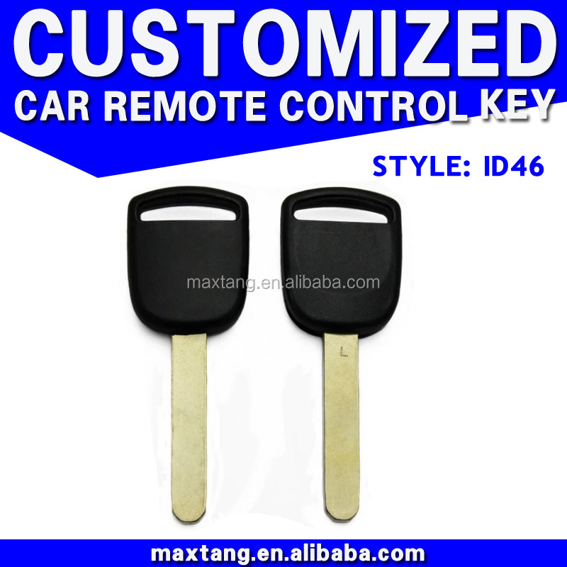 New Remote Ignition Transponder Key ID46 For Honda Uncut Blade Car Key Without Logo MTF-100421
