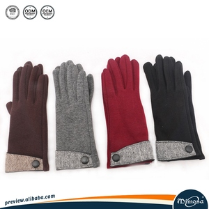Various styles wholesale custom outdoor ski cheap fashion riding mittens woman hand warm winter cycling gloves