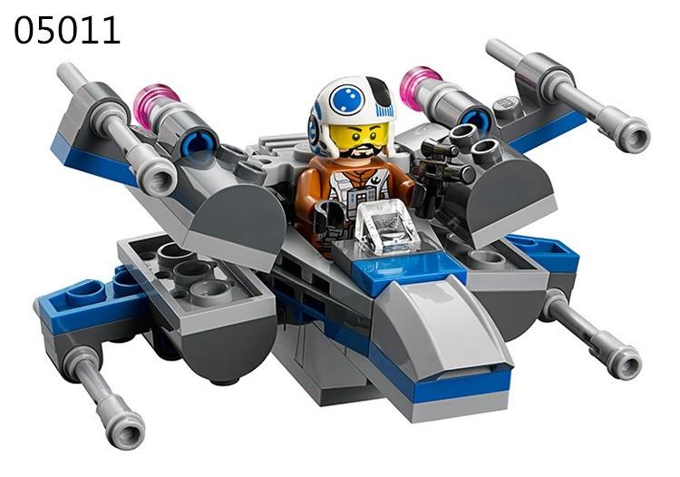 New Star Wars Figures Spaceship Building Blocks Clone Wars