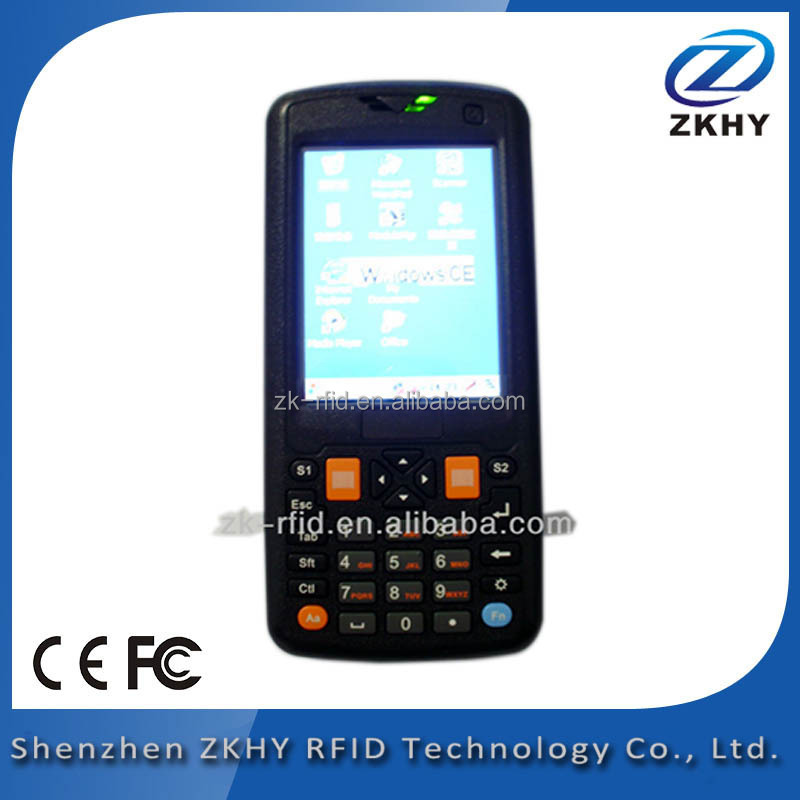 Top Technology In Low Cost RRH9187A Barcode&RFID handheld Reader For Vehicle Access Control Management
