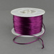PandaHall Round Nylon Thread for Chinese Knot Making Purple 1mm 100yards/roll