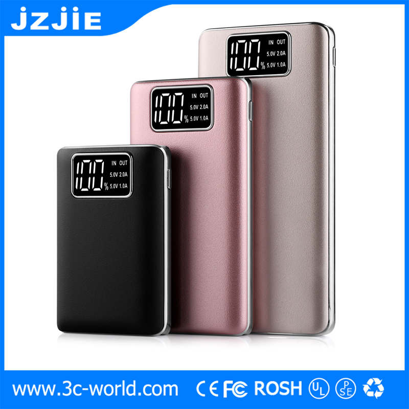 LED screen display Portable Power Bank 15000mah 2017 Consumer <strong>Electronics</strong> Wholesale Oem Power Bank