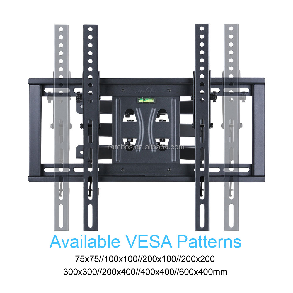 2020 Heavy Duty Articulating Best Full Motion Motorized Ceiling Flip Down Tv Mount Stand TV Wall Mount Bracket