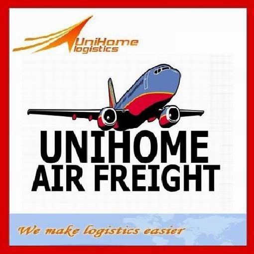 Air shipping cost customs clearance export from China to South Africa