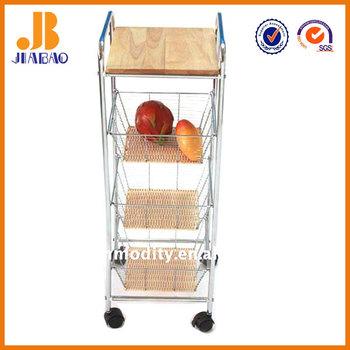 3 Tier Kitchen Vegetable Or Fruit Storage Rack