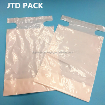 Qingdao JTD Manufacturer Wholesale White Adhesive Seal Disposable Plastic Litter Garbage Trash Bags For Cars