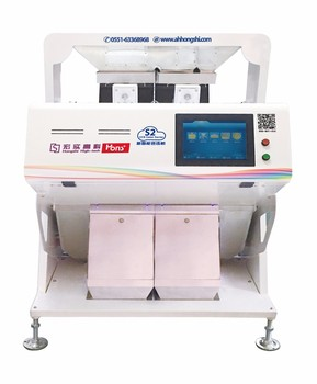 Intelligent CCD Saponin Color Sorter Multifunction Grain processing machinery 128 channels color separating machine from Hefei