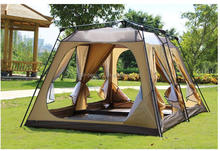 Automatic quick open fun huge camp tents