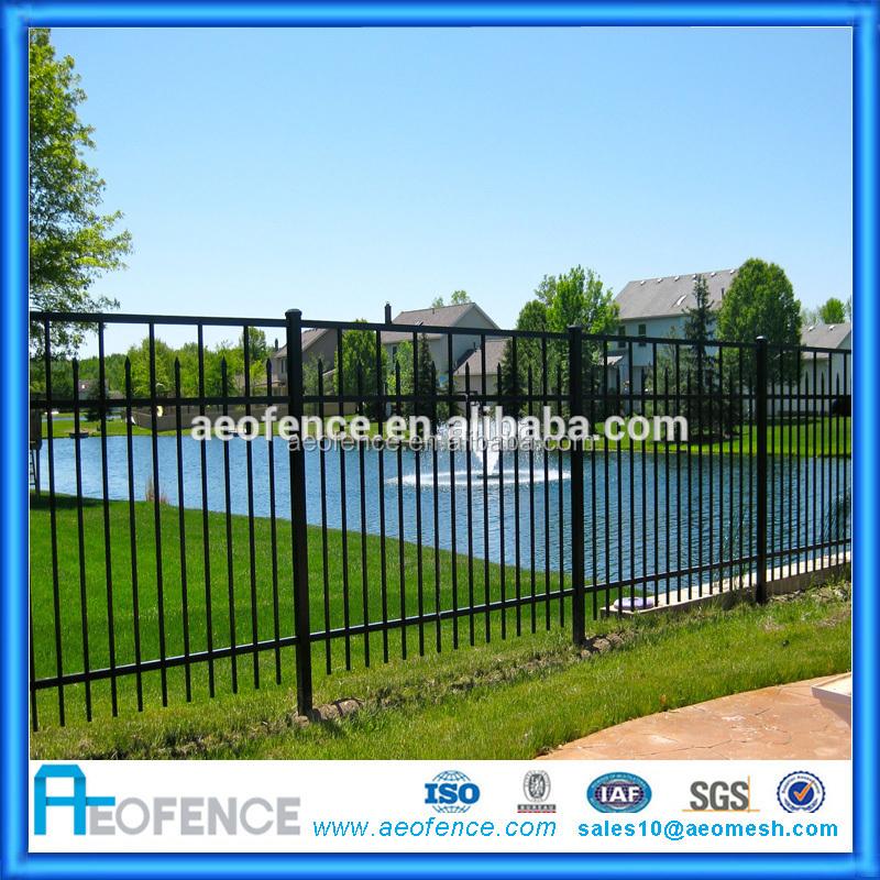 Modern Gate Design European Metal Garden Used FencingNot Wood