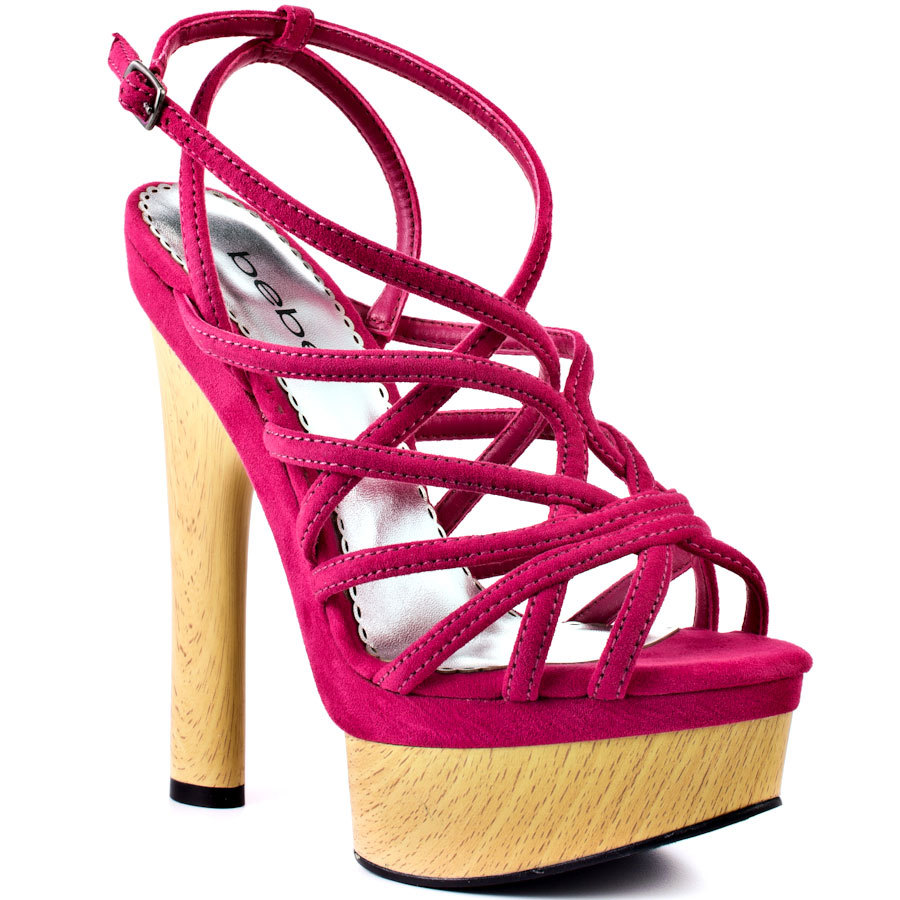 Pink / Blue / Green Platform Women Sandal Square High Heel Shoes Women Open Heel 2015 Sandal High Heel Open Toe Made-to-order
