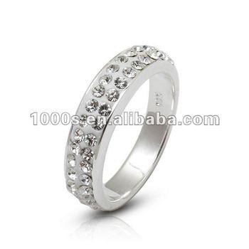 New Model Crystal Wedding Ring Buy Hawaiian Wedding RingsCrystal