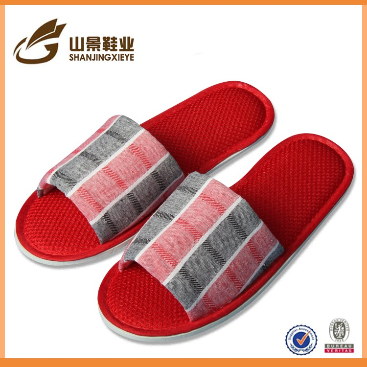 woman fashion washable guests hotel and indoor slipper