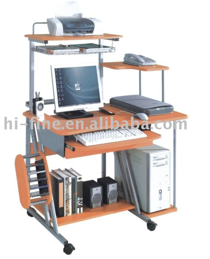métal bois table d'ordinateur - buy product on alibaba