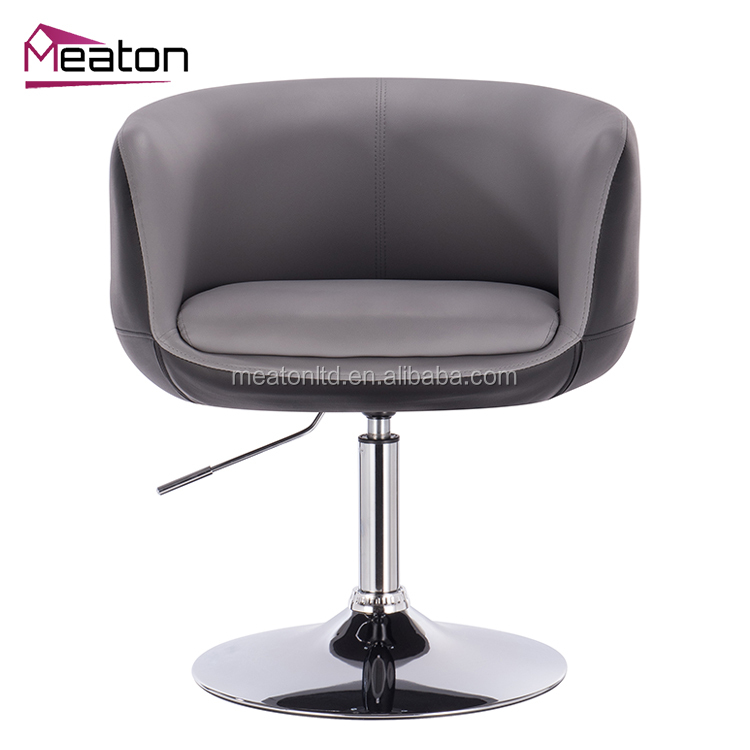 Good Quality Vintage Design Modern outdoor leather accent lounge bar stool
