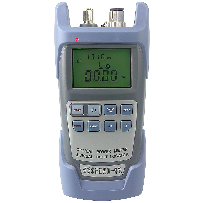 All in One FTTH Fiber Optical Power Meter -70 To +10dbm And 10mw 10km Fiber Optic Cable Tester Visual Fault Locator