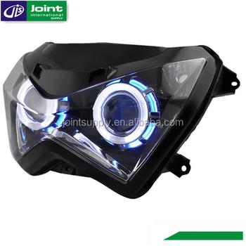Motorcycle Hid Projector Headlight For Kawasaki Z250z800 Buy
