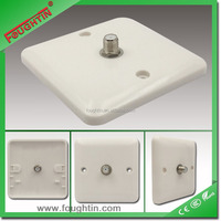 SASO certificate 1 gang satellite tv socket bakelite plate wall socket