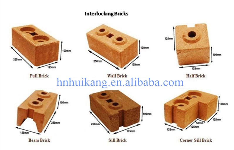 Compressed Earth Block Design : Hydraform interlocking compressed earth block machines