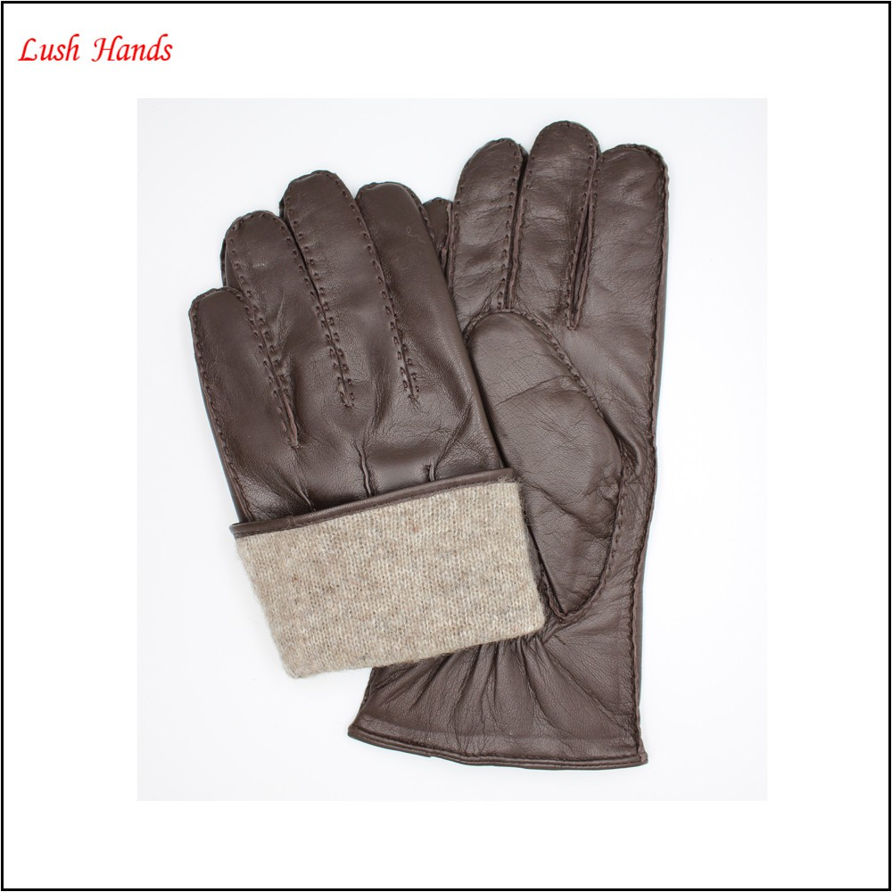Men 's Best-selling Goatskin leather gloves