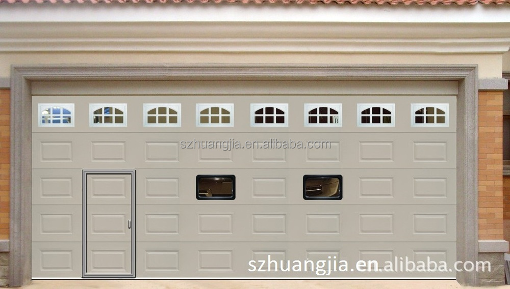 Wholesale Interior Residential Automatic Sliding Sectional Steel Sandwich Garage Door Lowes