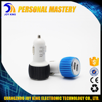 Quick charging 1A and 2.1A 2 port cell phone usb car charger mobile phone car USB charger fit for Tab Laptop Pad JKUC11