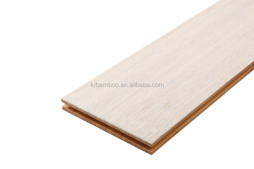 Floating White Color High Quality Braided Bamboo Flooring