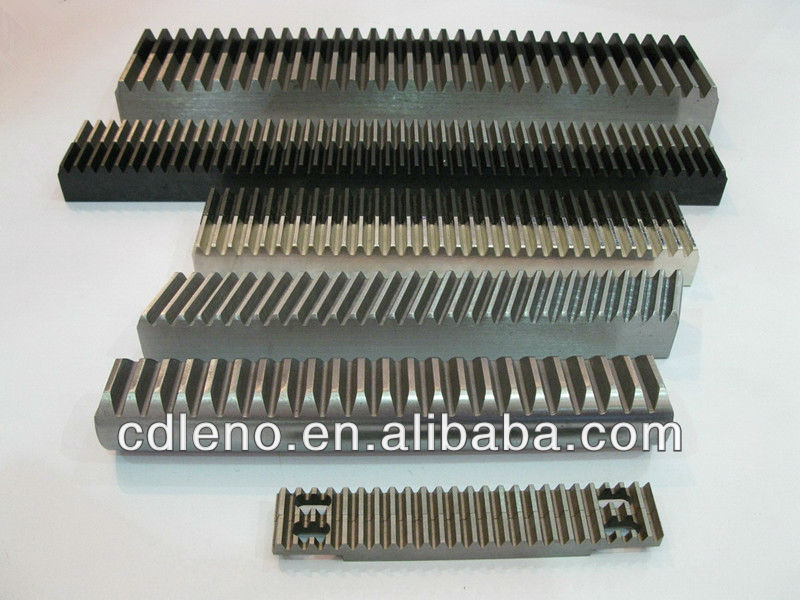 High precision spur and helical Gear Racks and Pinions