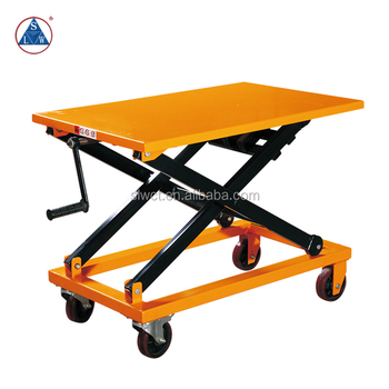 300kg Portable Mechanical Manual Hand Crank Lift Table - Buy Hand Crank  Lift Table,Manual Hand Crank Lift Table,Portable Hand Crank Lift Table  Product