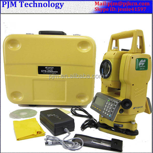 TOPCON TOTAL STATION ES-102/105 estacion total Prismless reflectorless total station