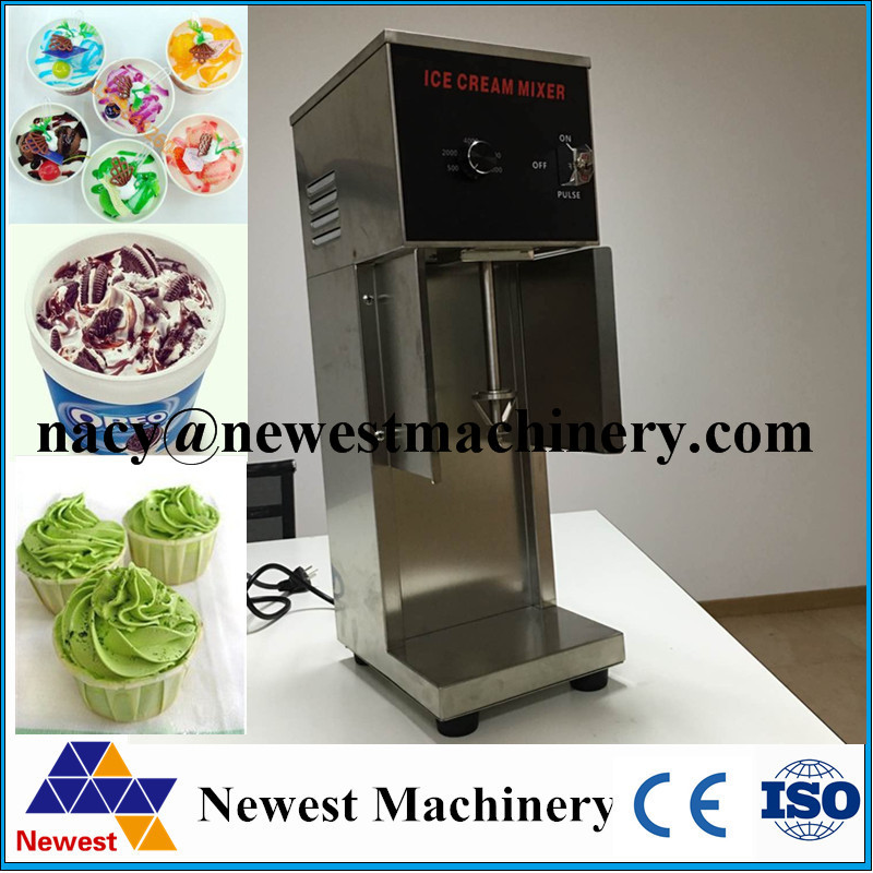 750w blending ice cream machine,ice cream store use,ice cream mixer