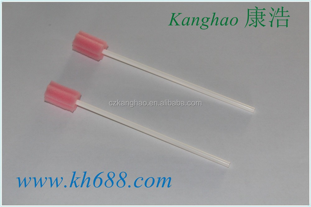 Made in China hospital using sterile swab, aseptic sponge swap, germfree foam tips
