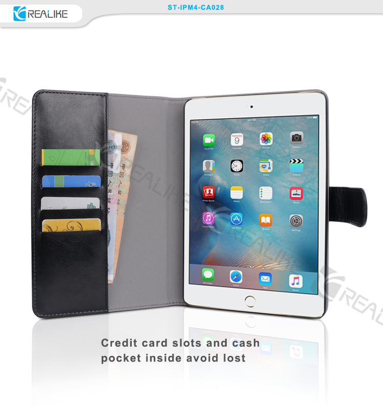 Brand New for ipad mini 2 wallet purse case