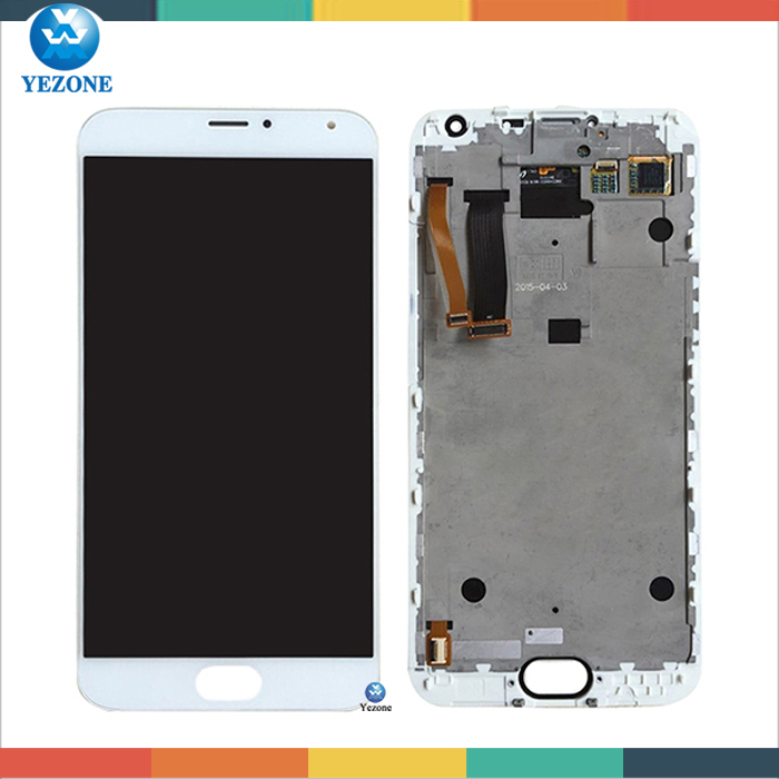 Hot Selling LCD Screen For Meizu MX5 Display, LCD Touch Screen For Meizu MX5 LCD with Digitizer Replacement Original