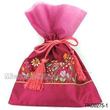 Chinese jewelry bag embroidery jewelry pouch