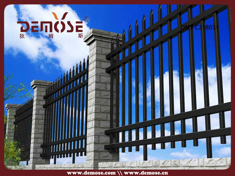 Boundary Wall Security Grill Fence Design View Boundary