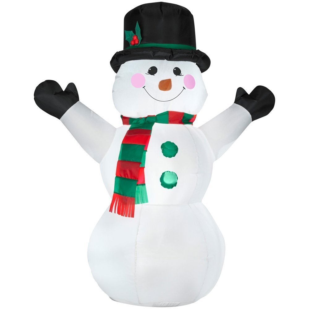 Buy Gemmy Outdoor Snowman Airblown Christmas Inflatable #82972 in ...