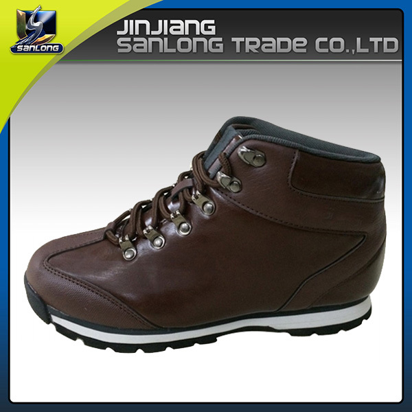 branded outdoor leather women hiking boot