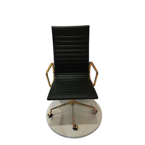 Free sample boss swivel revolving manager pu leather executive office chai r/ chair office
