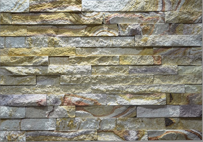 Hs Zt014 Yellow Color Exterior Stone Wall Cladding Cheap Stone Veneer Buy Cheap Stone Veneer