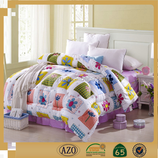 All sorts of color of flowers for kids bedroom plain dyed all size bed sheet brands