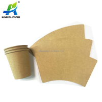 Food Grade pe coated Kraft Paper for paper cup