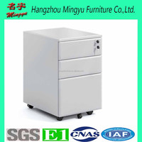 Knock Down Office Filing 3 Drawers Lock Steel Pedestal Mobile