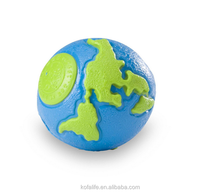Planet pattern ball rubber pet toy dog play toy unique design
