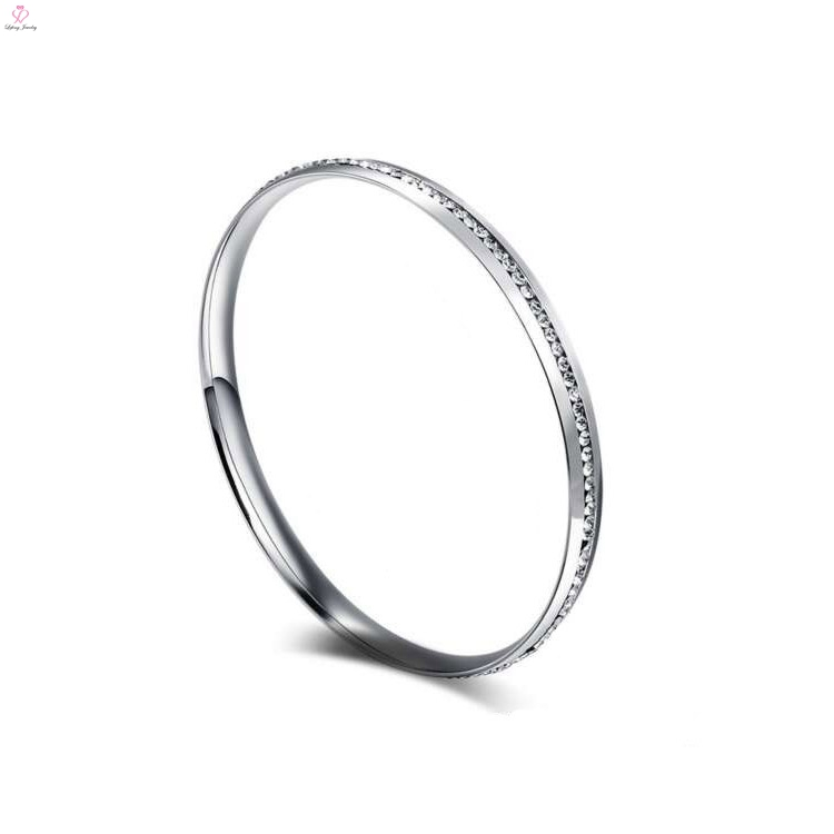 ladies bangle diamonds hot bracelet for paradise diamond silver with bangles duet stacking