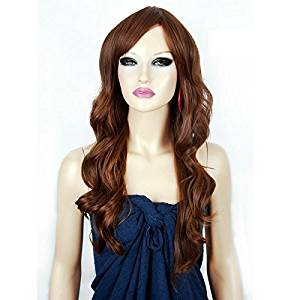 Neitsi 100% Japanese Kanekalon Fiber Synthetic Hair Wigs Sexy Stylish Sythetic Hair Wig Blonde curly long wigs for woman #flaxen