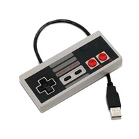 Classic Wired USB Game Controller Gamepad for Nintendo NES PC Windows & Mac system, NES usb pc joystick