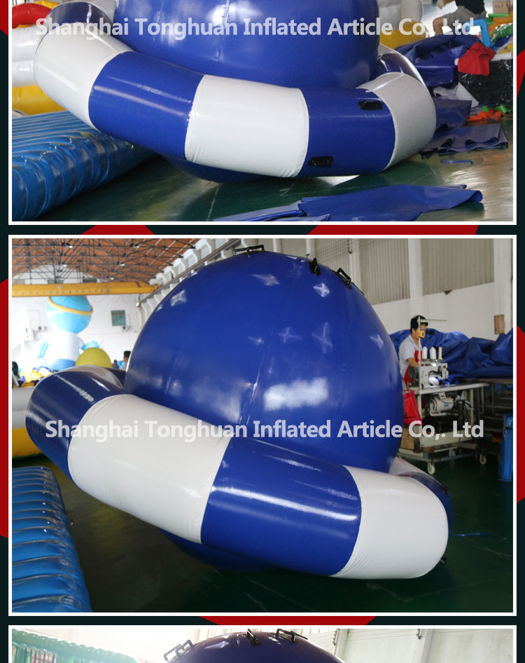 saturn inflatable boats water toy inflatable peg-top