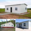 sandwich panel cheap prefab house for construction site in Uruguay