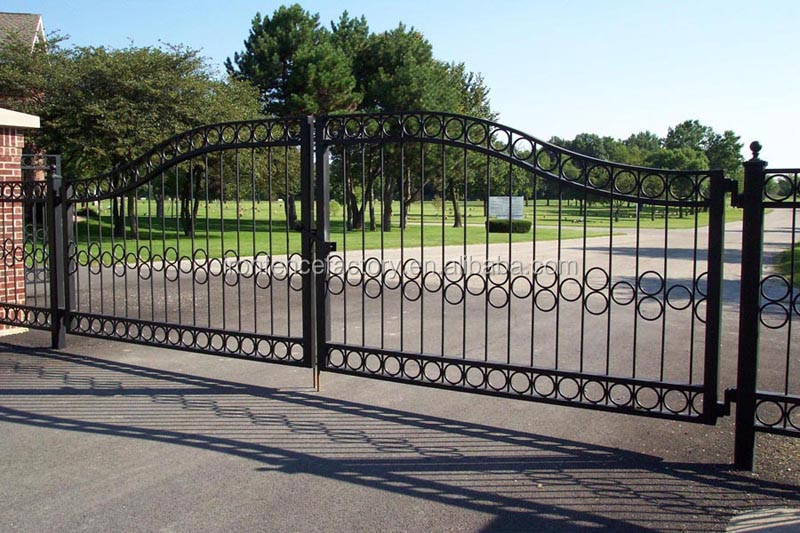 New Style Home Gate Grill Design/steel Sliding Gate/villas Gate ...