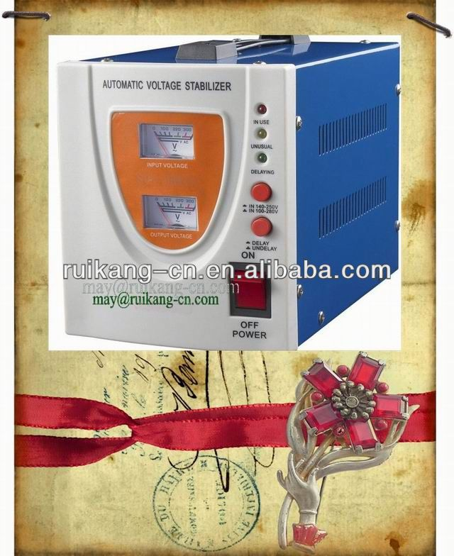 AVR 1500va Automatic Voltage stabilized rice bran
